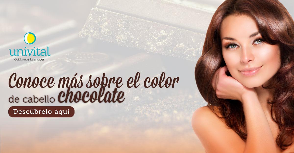 cabello color chocolate