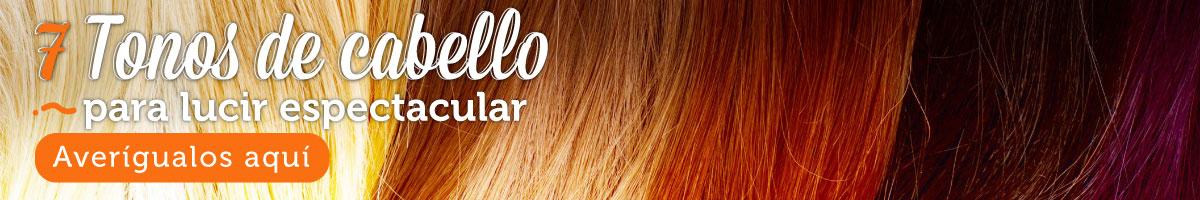 7 tonos de cabello