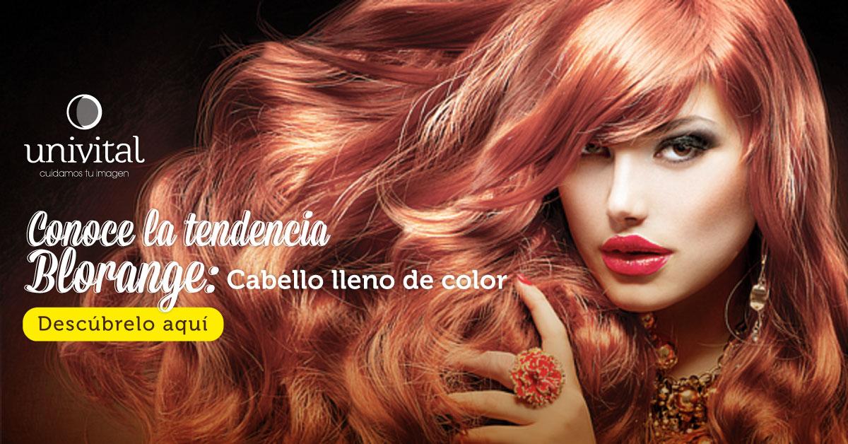 Conoce la tendencia Blorange: cabello lleno de color