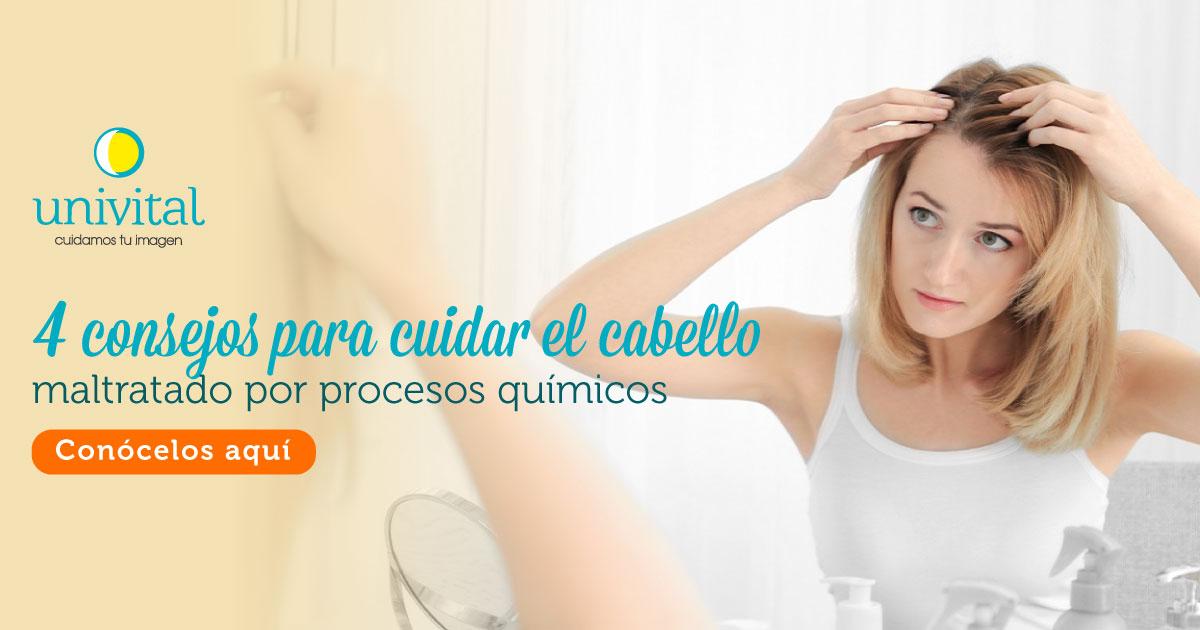 Consejos para cuidar el cabello maltratado