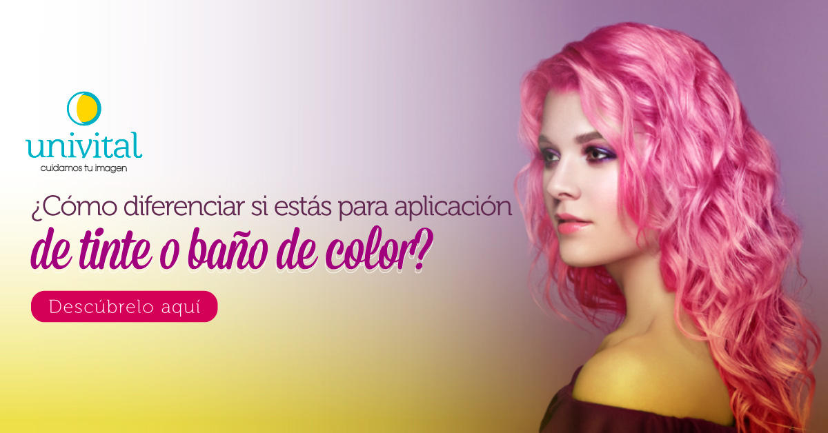 Color de pelo: ¿Cómo diferenciar si estás para aplicación de tinte o baño de color?
