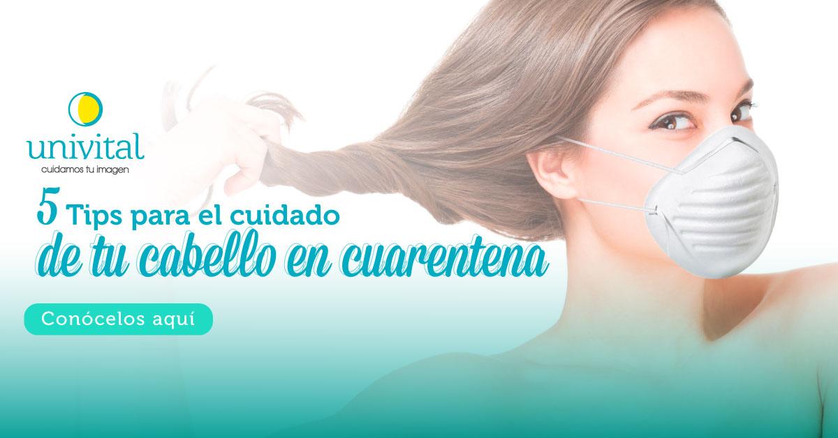5 tips para el cuidado de tu cabello en cuarentena
