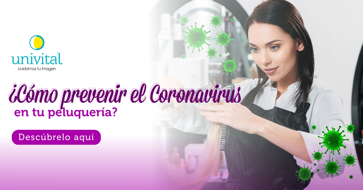 ¿Cómo prevenir el Coronavirus en tu peluquería?