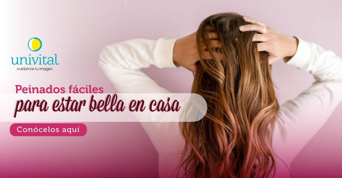 Peinados fáciles para estar bella en casa