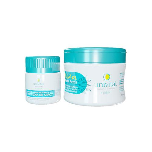 Proteína de Arroz Oryza para recuperar cabellos