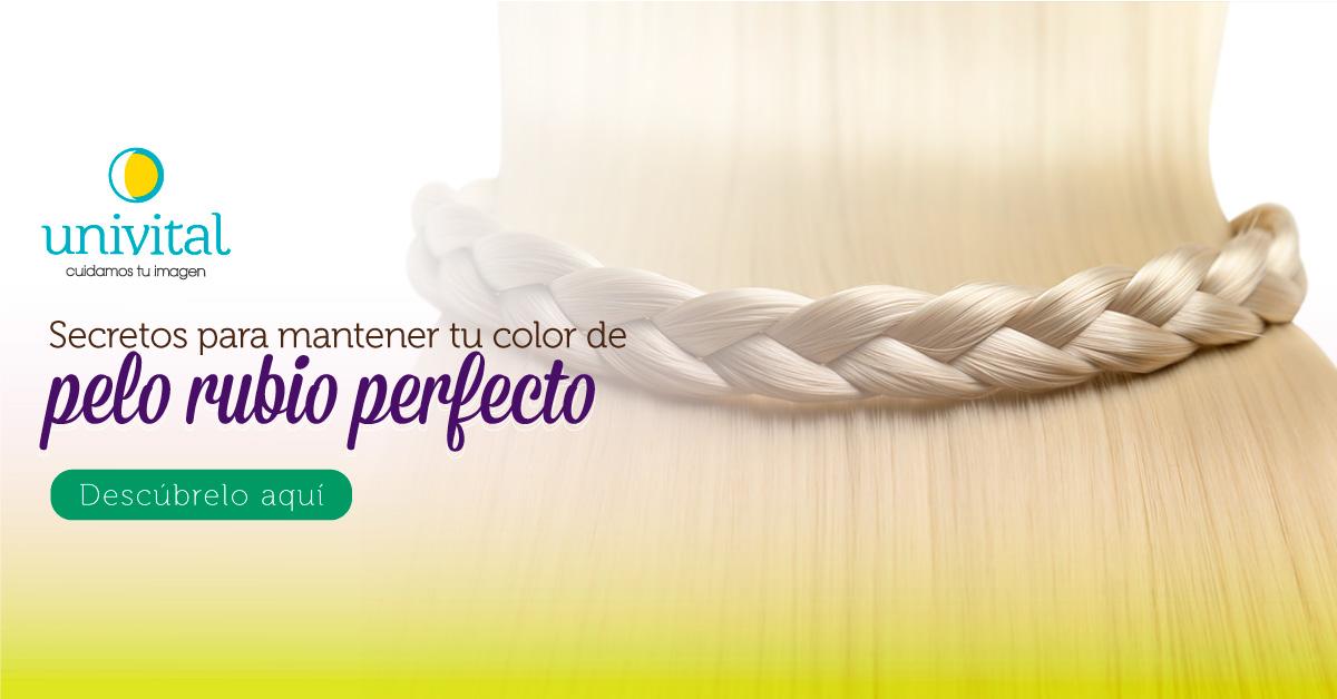 Secretos para mantener tu color de pelo rubio perfecto