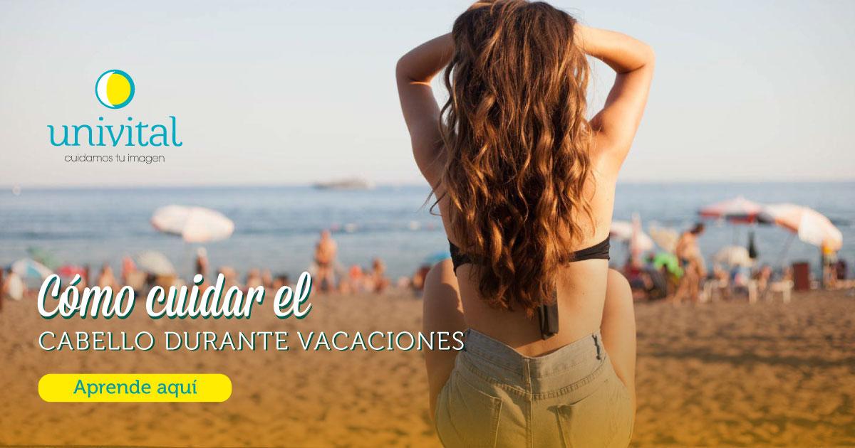 Cuidado del cabello durante las vacaciones