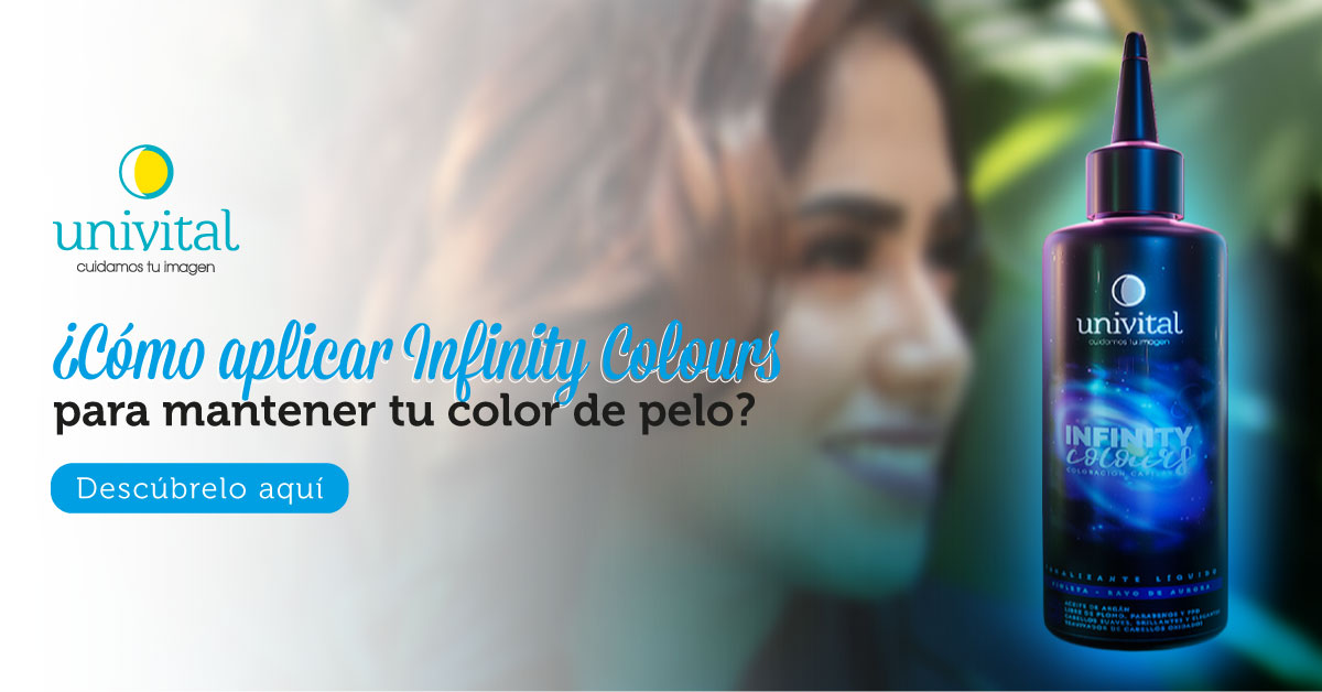 ¿Cómo aplicar Infinity Colours para mantener tu color de pelo?