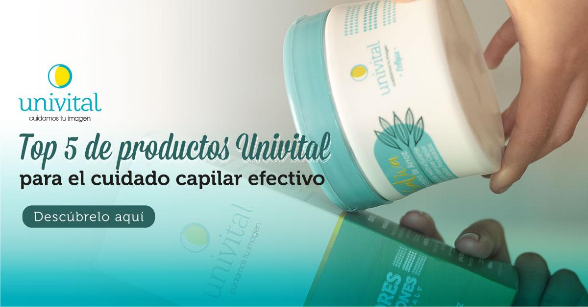 Top 5 de productos Univital para el cuidado capilar efectivo