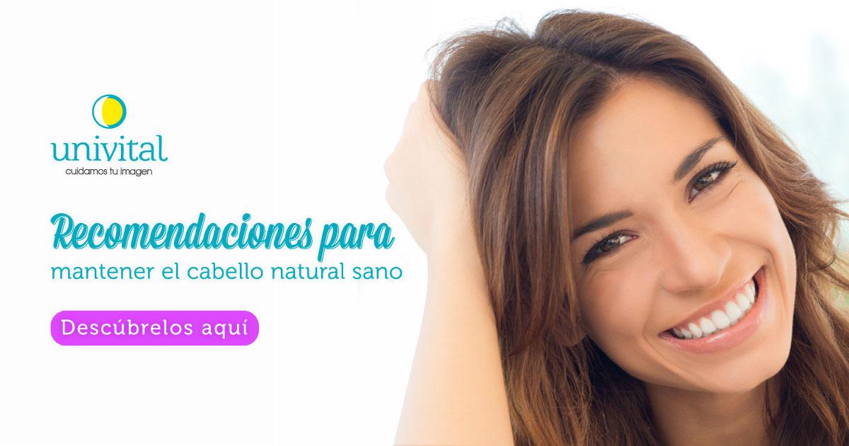 Recomendaciones para cuidar el cabello natural