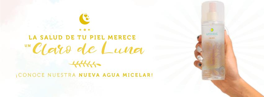 Agua Micelar Claro De Luna Univital