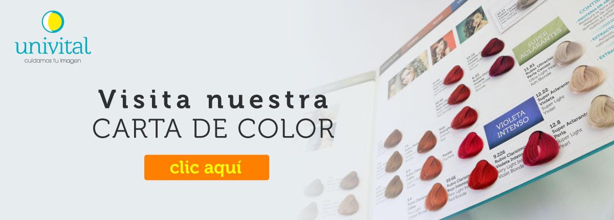 Carta de colores Univital