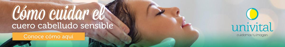 Cómo cuidar el cuero cabelludo sensible