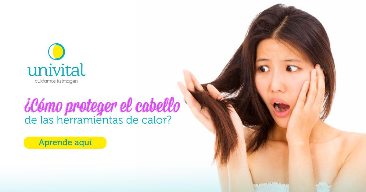protege tu cabello de la plancha y secador con Univital