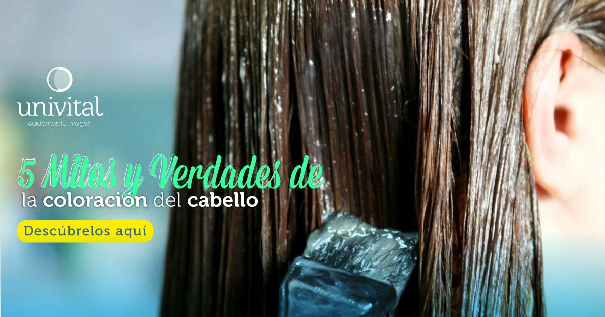 Mitos y verdades de la coloración del cabello