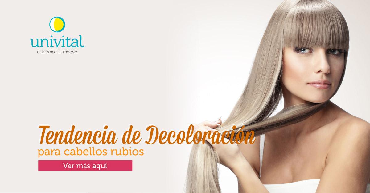 Tendencias de coloración para cabellos rubios