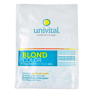 Decolorante BlondColor Univital con aceite de argán.