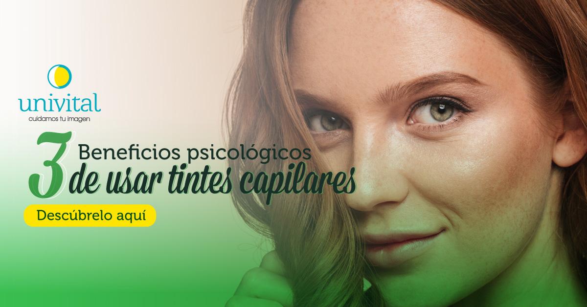 3 Beneficios psicológicos de usar tintes capilares